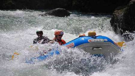 rafting tour sarapiqui