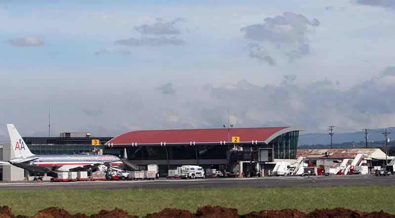 airport in San José, Costa Rica